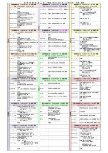 Dより H1年2月度 NEW行事予定表 – 全単会 2月MS早見表 2.13HP UPのサムネイル